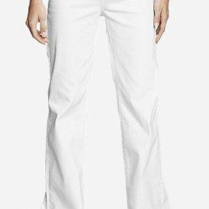 Eddie Bauer Women's White Curvy Denim Jeans, New!